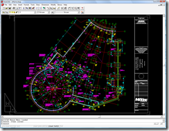 AutoCAD R14 running on Windows Vista