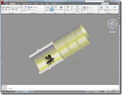 Bee House in AutoCAD 2009