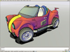 Conceptual_car_red_n_yellow_stripes