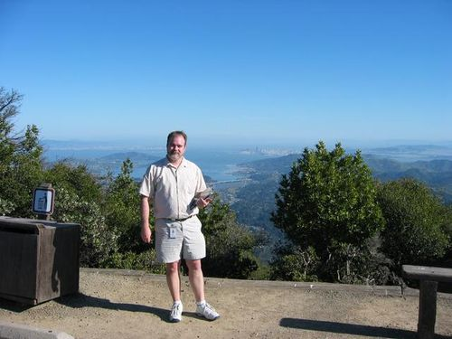 March 9, 2004 Top of Mt. Tam with a HP Tablet PC